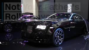 rolls royce black badge rolls royce unveils cars designed for u0027rule breakers u0027 cnn video