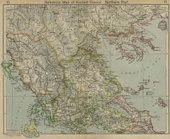 blank map of ancient greece a of maps of the ancient superpower of greece