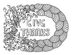 thanksgiving coloring page for adults printable coloring pages