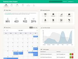 20 best free bootstrap admin templates 2018 athemes