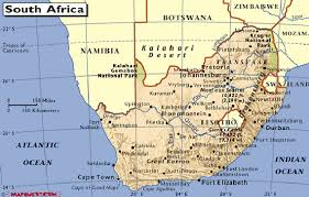 a picture of south africa map detailed map of south africa its provinces and its major cities