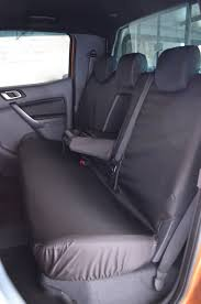 ford ranger 2012 tailored waterproof front and rear seat covers