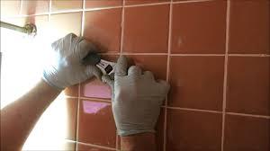 shower leaking in wall broken shower arm in wall youtube