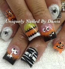 Halloween Nail Art Pumpkin - 57 easy halloween nail art with ghost pumpkin candy corn disney