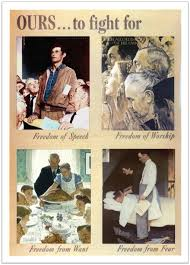 norman rockwell s freedom from want a picture