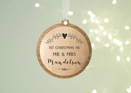 personalised christmas baubles christmas decorations norma u0026dorothy