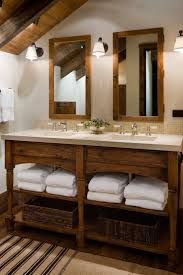 Open Bathroom Vanity by 132 Best Bathroom Rustic Images On Pinterest Room Dream