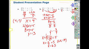 9 4 how to solve a linear system with multiplication addition method connected math soa inv 4 4