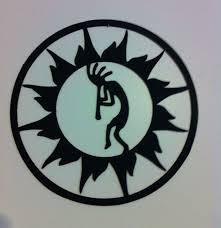kokopelli metal wall art kokopelli in sun circle wall art
