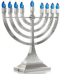 hanukkah menorah judaica led electric hanukkah menorah battery or usb powered 4