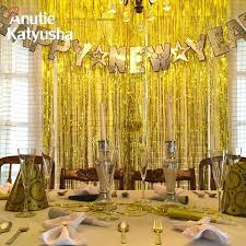 wedding backdrop uk clearance wedding decorations gold silver foil tinsel curtain