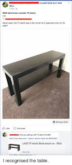 Ikea Buy Or Sell A Classifieds Buy And Sell 4mins Ikea Brown Wooden Tv Stand 95
