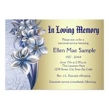 Online Marriage Invitation Inspiring Memorial Service Invitation Cards 74 For Free Online