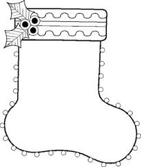 christmas stocking coloring pages christmas coloring pages for kids