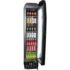 glass door bar fridge essendon bombers football club weg branded skinny commercial bar