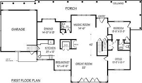 dimensional floor plans of hampton shingle home