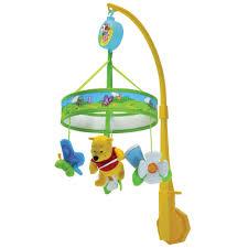 disney winnie pooh chasing butterflies wind mobile 32 00