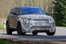 land rover camo new 2019 range rover evoque test mule spied auto express