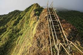 Hawaii Haiku Stairs by Climbing The Stairway To Heaven Shawn Clover