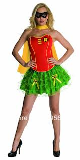 Halloween Costumes Womens Superheroes Cheap Robin Superhero Costume Women Aliexpress