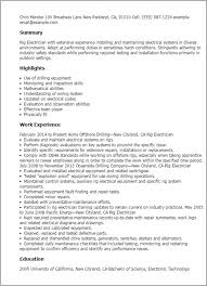 oil rig electrician cover letter