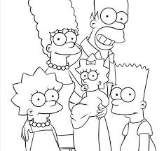 100 simpsons coloring pages simpsons coloring pages coloring