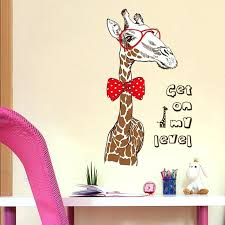 home decor giraffe giraffe decor for bedroom fashion giraffe large wall stickers animal