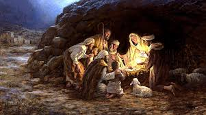 on the birth of jesus thunder on the right