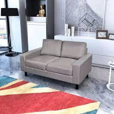 canapé gris clair canapé gris foncé gris clair en tissu canapé de salon séjour