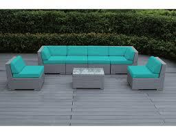 Outdoor Patio Furniture Wicker Beautiful Outdoor Patio Wicker Furniture Seating 7pc