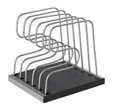 amazon com copco 2555 1978 adjustable bakeware organizer home