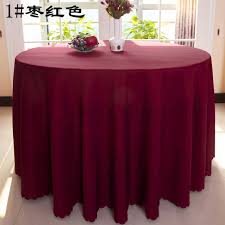 wedding table cloths free shipping 10pcs burgundy polyester table cloths wedding