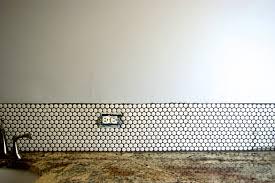 remodelaholic tips for installing a penny tile backsplash