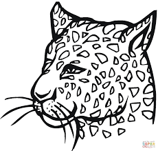 cheetah print coloring pages free printable cheetah coloring pages