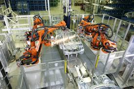 assemble the software for the robotic assembly line
