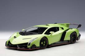 2013 Lamborghini Veneno - autoart highly detailed die cast model green lamborghini veneno