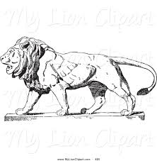 royalty free black and white stock lion designs page 3