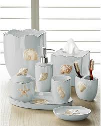 Beach Style Bathroom Decor Accessories Set Coastal Style Beach Style Bath And Spa