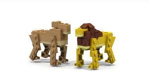 lego ideas lion king micro