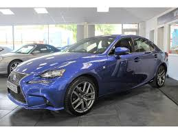 lexus is300h cvt used lexus is 300 saloon 2 5 f sport e cvt 4dr in newton le