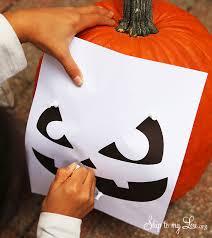 free printable pumpkin carving templates halloween pumpkin