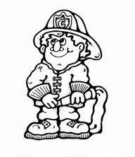 47 best brandweer images on pinterest coloring books colouring