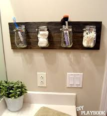 Storage Containers For Bathrooms by Best 25 Mason Jar Storage Ideas On Pinterest Mason Jar Bathroom
