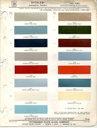 paint chips 1965 ford mustang