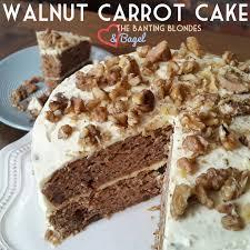 walnut carrot cake thebantingblondes