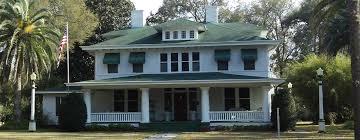 Florida Style Homes Pasco County Historical Society Building In Dade City Florida