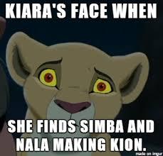 Lion King Meme - lion king kiara tfw meme by krazykari on deviantart