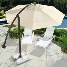 Square Cantilever Patio Umbrella by Cantilever Patio Umbrella With Base Under Ground