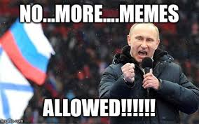 Russia Memes - putin bans putin memes in russia rallypoint