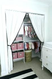 Curtains As Closet Doors Curtain For Closet Curtains For Closet Doors Will Change The Way